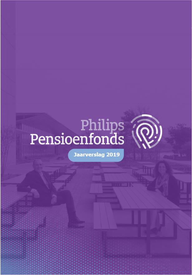 De voorkant van het jaarverslag 2019 van Philips Pensioenfonds